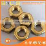 ISO4036 color hex thin nut