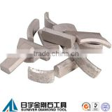 China manufacturer diamond core drill bit segment for reinforced concrete                                                                         Quality Choice