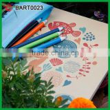 Custom Printed School Drawing Kids Stationery Items                                                                         Quality Choice