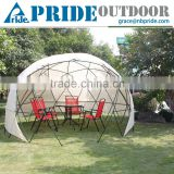 Multifunctional Transparent Outdoor Leisure Awning Rain Cold Wind Tent Round Dome Gazebo