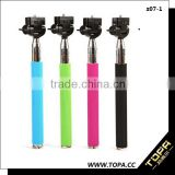 2014 Factory Cheap wireless extendable legoo bluetooth selfie stick monopod tripod for iphone and Andriod