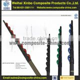 100% Full carbon fiber telescopic banner pole with light weight and different color clamps