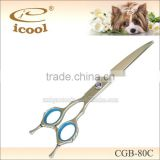 CBG-80C fancy long blade stainless steel professional right handed Japanese dog grooming scissors