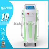 Professional High-tech Ipl+e-light Ipl Rf+nd Yag Laser Multifunction /hair Removal Machine Bikini Hair Removal