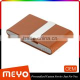PU leather stand colorful credit card holder gift box multi-color