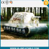 inflatable military Decoy inflatable army tank giant for advertising giant