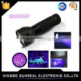 Rechargeable Led Powerful led uv flashlight