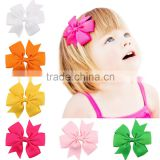 Hot-sales Baby 3 inch pinwheel bow hair Bow small Ribbon Bow Headbands 32 colors many colors girl Hair Bows cb-3633