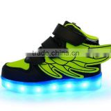 Brand New Kids Girls Boys LED Light Up Sneakers Luminous Casual Flash Usb Charger Led Light Running Shoes