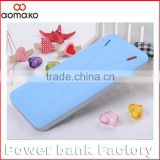 innovative products for import thinnest power bank 8000mah rubber oil cover external battery charger new products