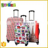 Justop Polyester spandex Luggage trolley case Cover,Protectable luggage cover                                                                         Quality Choice