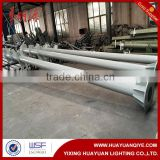 Traffic sign pole,road safety sign pole,galvanized steel pole