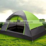 New style dome flysheet D door 3 person outdoor camping family holiday tent
