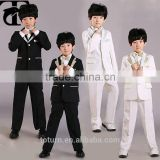 Hot Selling 2016 Wholesales In China Factory Cheepest Price Boys Suits With White Color