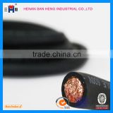 16mm 25mm 35mm 50mm 70mm 95mm2 Copper clad aluminum/Copper conductor PVC/ TPE/Rubber/EPR/CPE sheathed welding cabl