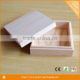 Alibaba China Website Custom Wooden Tea Pine Wood Gift Box                                                                         Quality Choice