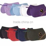 Horse Cotton Saddle Pads / Horse Riding Quilted Saddle Pads / Horse Diamond Stitch Saddle Pads
