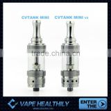 Best christmas gift for vape with Ceramic wick dual coil e-cig CVtank Mini V2 atomizer from Ceravape