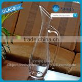 NO.9019 1000ml hot sale lead-free crystal Glass Wine Decanter fancy red wine glass decanter for hotel and home