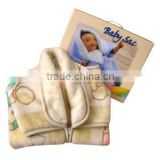 polyester+cotton muslin baby sac blanket fabric