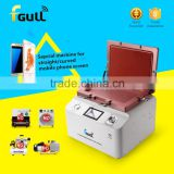 LCD Repair Machine fgull Latest Upgrade 2 in 1 OCA Vacuum Laminating Machine with Touch Screen, Built-in Pump+Compressor
