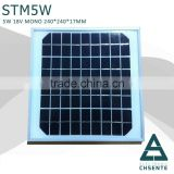 5w A-grade cell sunpower solar panel pv solar panel price                                                                         Quality Choice