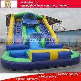 2016 China funny giant inflatable slide /inflatable giant water slide for kids and adults