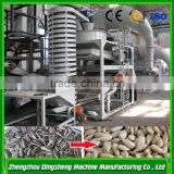 Oat shell hulling machine