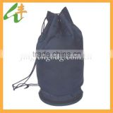 black polyester wholesale hemp bag drawstring