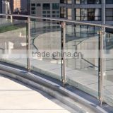 Toughened glass handrails for interior stairs with AS/NZS2208:1996, BS6206, EN12150 certificate