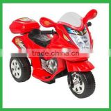 Baby motorbike with more functions, more colors choice of lights Kids Electric ride on car three wheels