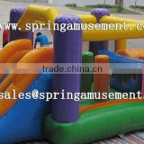 Top sale classical inflatable jumper and slide combo castle for kids SP-CM032