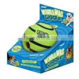 Wobble wag giggle ball novel pet toy ball