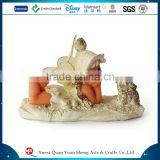 Polyresin adroable lying little angel statue                                                                         Quality Choice