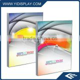 LED optical lens fabric light box for tradeshow
