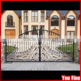 Beautiful Simple Decorative Wrought Iron Gate Arch