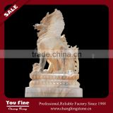 Marble Decorative Outdoor Dragon Statue