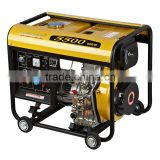 CE 4.5KW WAHOO WH5500DG AC Single Phase Output Type diesel generatorred copper scrap price