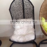 poly rattan hanging chair