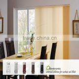 Bintronic Taiwan Vertical Blinds Motorized Vertical Blinds Electric Curtain Track System Room Divider