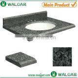 Natural color gery granite bathroom vanity top                                                                                                         Supplier's Choice
