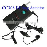CC308 Security Product 6 ultra red led Mini RF bug detector Hidden Camera Detector