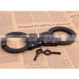 Classic Police gay Toys stainless steel handcuff wholesales, Adult Game Sex Black American metal handcuffs (SM-561513)