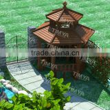 outdoor gazebo wood