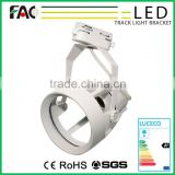 with CE RoHS Black/White/Silver housing clothing shop led luminaire track light