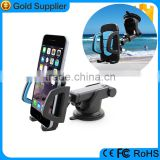 Most popular windshield cellphone holder, universal flexible car glass holder for iPhone 6s
