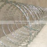ISO9001:2000 certified manufacturer safety clips razor wire/production of blades/Razor barbed wire philippines