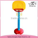 Stable outdoor plastic mini home kindergarten child basketball hoop