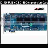 hd-sdi full hd compression dvr card dahua