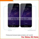 Original tempred glass screen protector for Meizu M2 Note, Hot selling for Meizu M2 Note screen protector